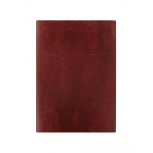 Letts of London 2021 Diary (Lecassa, A5, WTV, ML, Brown)