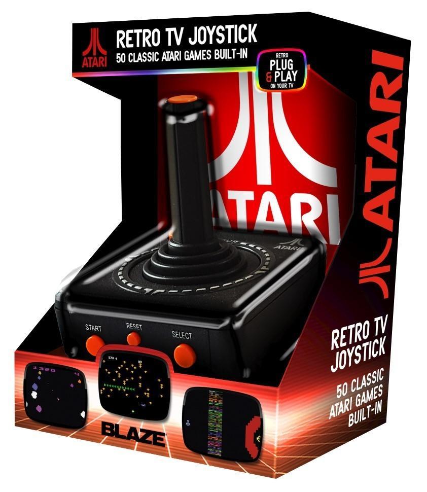 Atari Retro TV Plug and Play Joystick(50Games)