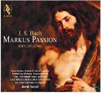 JS Bach: Markus PassionBWV247(1744)