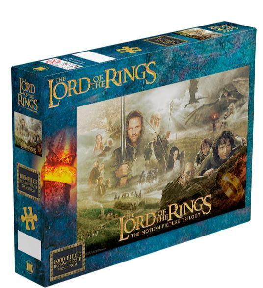 Lord Of The Rings Trilogy Jigsaw Puzzle (1000 Pieces)
