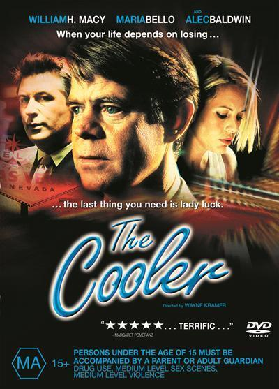 Cooler Dvd by William H  Macy, Maria Bello, Alec Baldwin, Paul Sorvino, Ron  Livingston