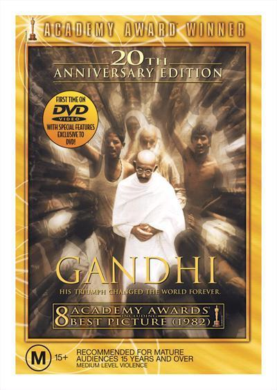 Gandhi 20th AnniversaryEditionDvd