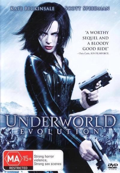 Underworld Evolution Dvd by Wiseman Len, Scott Speedman, Bill Nighy, Tony  Curran, Shane Brolly