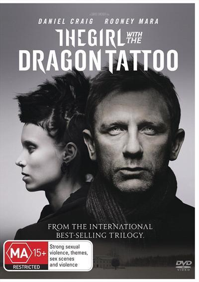 Girl With The Dragon Tattoo Us Version Dvd
