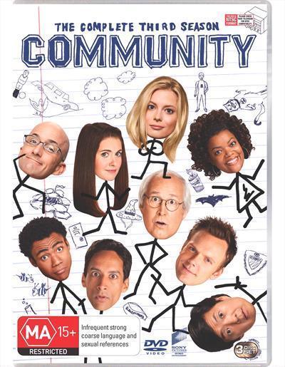 Community Season3Dvd
