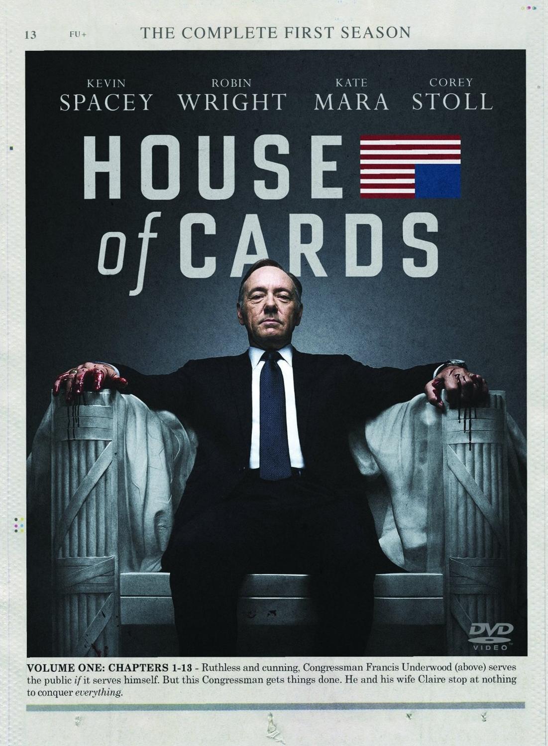 House of Cards: Season1(DVD)