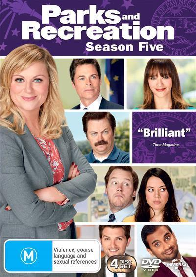 Parks And Recreation Series 5 Dvd