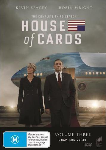 House Of Cards: Season 3 (DVD)