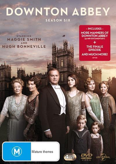Downton Abbey: Season 6 (DVD)