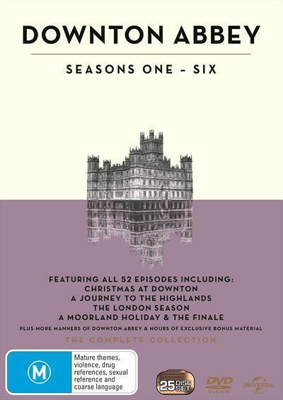 Downton Abbey: Seasons 1 -6(DVD)