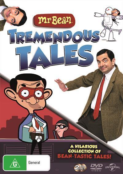 Mr Bean Collection Tremendous Tales Dvd By Atkinson Rowan Readings