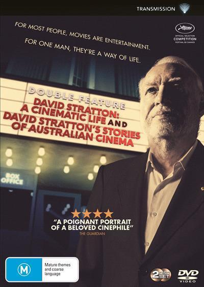 David Stratton: A Cinematic Life and Stories of AustralianCinema(DVD)