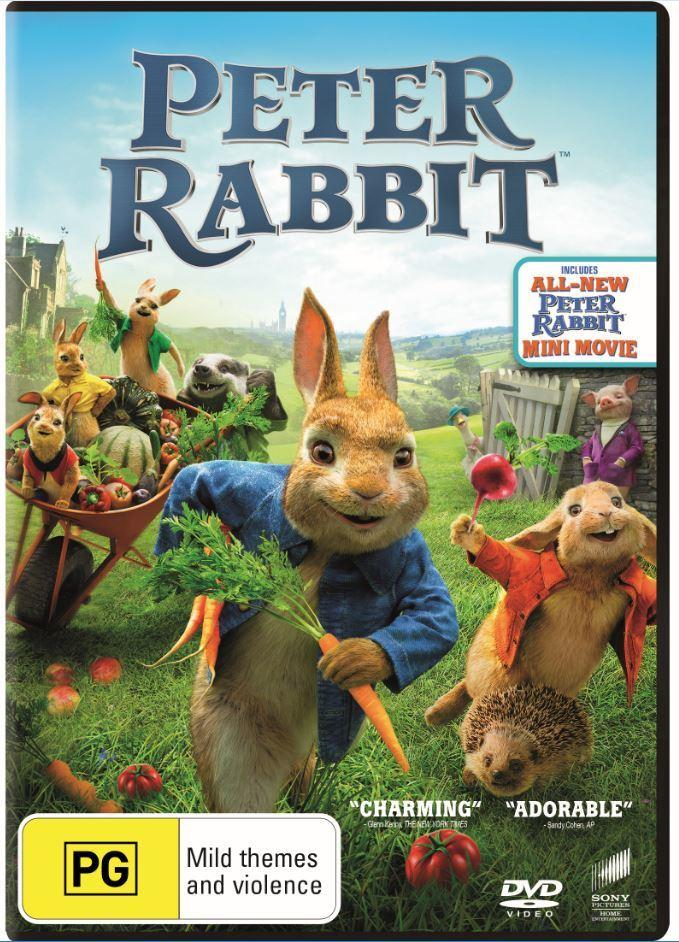 Peter Rabbit 2018 (DVD)