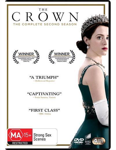 The Crown: Season 2 (DVD)
