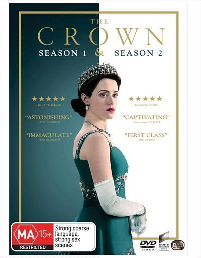 The Crown: Season 1 & 2 Box-set (DVD)