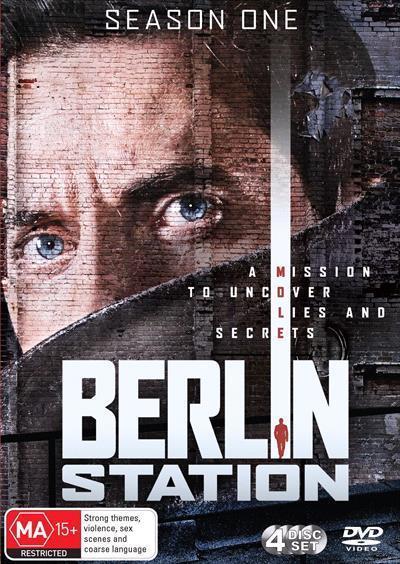 Berlin Station: Season1(DVD)