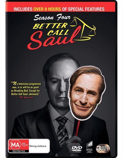 Better Call Saul: Season 4 (DVD)