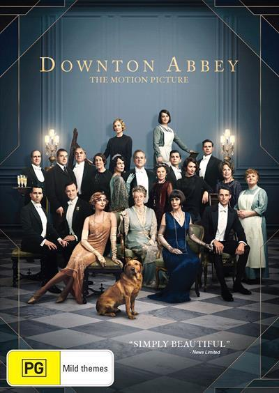 Downton Abbey: The Movie (DVD)
