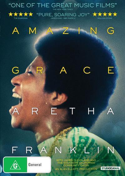 Amazing Grace: Aretha Franklin (DVD)