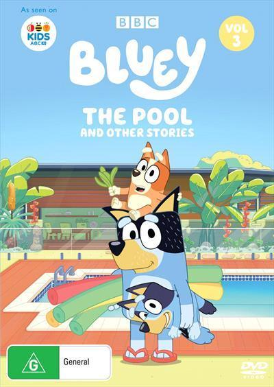 Bluey: The Pool and other stories, Volume3(DVD)
