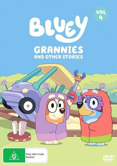 Bluey: Grannies and other stories, Volume4(DVD)