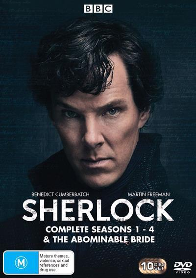 Sherlock Seasons 1-4 & Abominable Bride (DVD)
