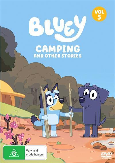Bluey: Camping and other stories, Volume5(DVD)