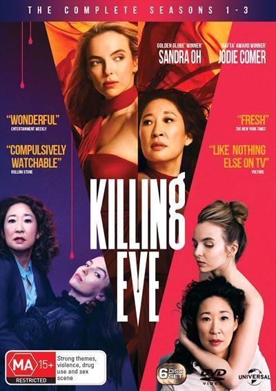 Killing Eve: Seasons 1-3 Box-set (DVD)