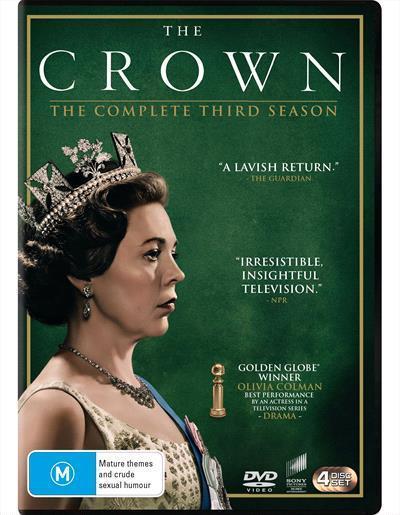 The Crown: Season3(DVD)