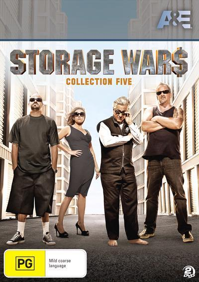 Storage Wars Collection 5 Dvd  sc 1 st  Readings & Storage Wars Collection 5 Dvd by Brandi Passante Laura Dotson ...