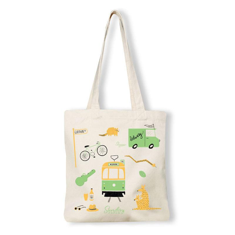Melbourne Icons Tote Bag