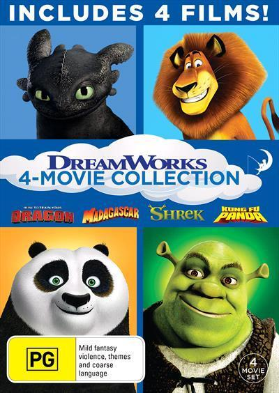 Dreamworks Holiday Essentials | Boxset by