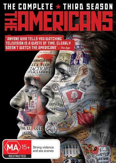The Americans: Season 3 (DVD)