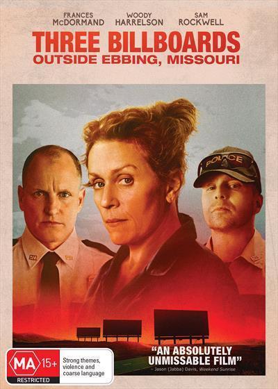 Three Billboards Outside Ebbing,Missouri(DVD)