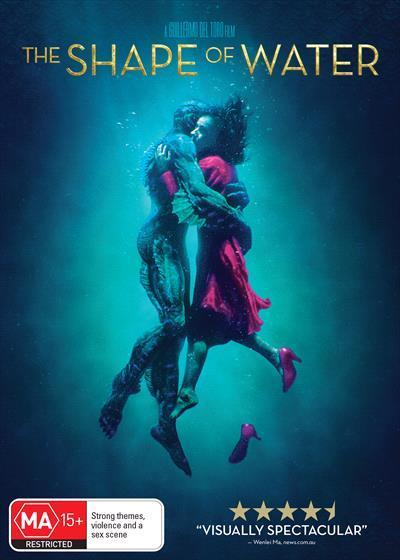 The Shape of Water (DVD)
