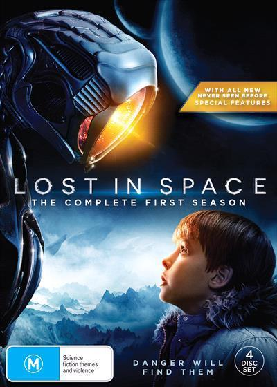 Lost in Space (2018) Season 1 (DVD)