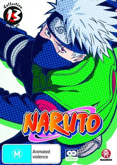 Naruto Uncut - Collection 13 : Eps 164-177|Slimpack