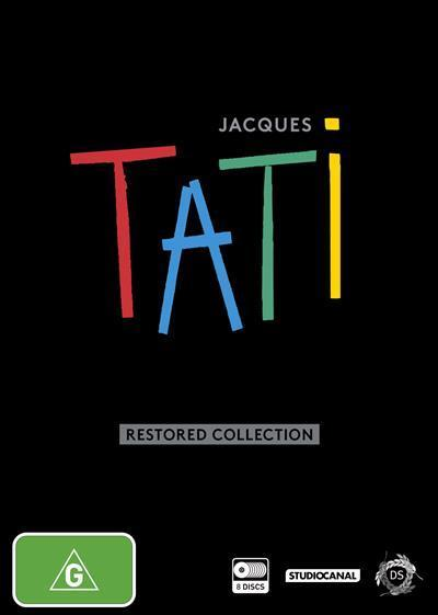 Jacques Tati: The RestoredCollection(DVD)