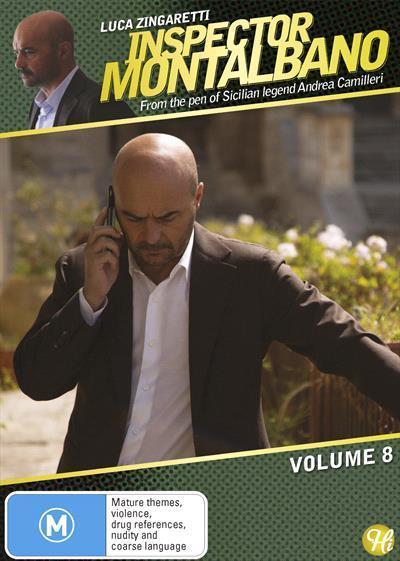 Inspector Montalbano: Volume8(DVD)
