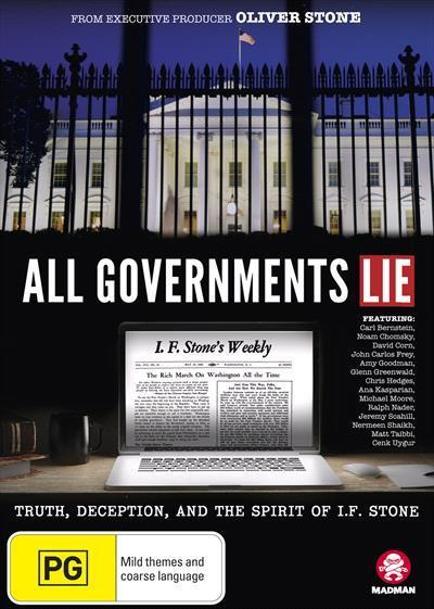 All GovernmentsLie(DVD)