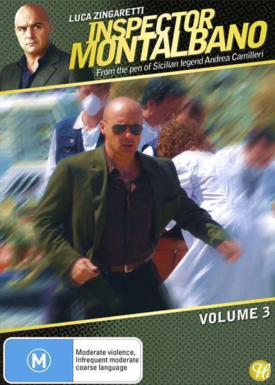 Inspector Montalbano: Volume3(DVD)