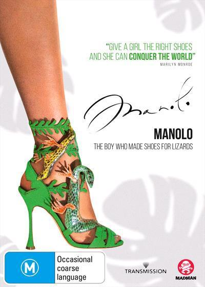 Manolo: The Boy Who Made Shoes For Lizards (DVD)