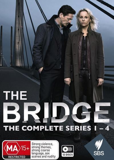 The Bridge: Series 1-4(Box-set)(DVD)