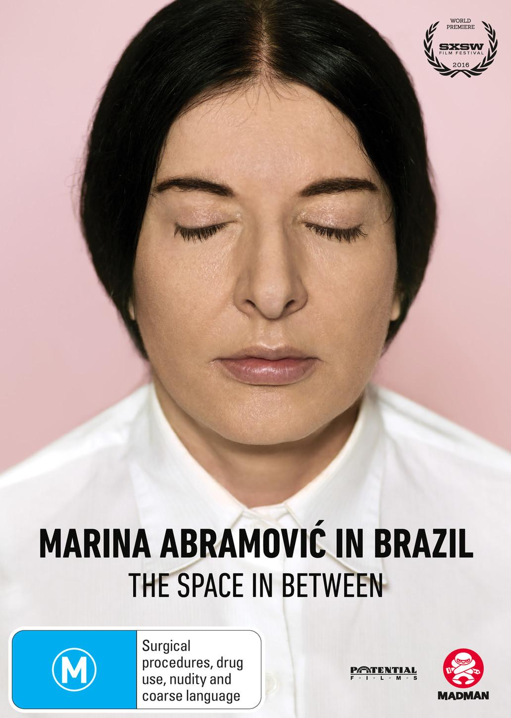 Marina Abramovic In Brazil Space In Between (DVD)