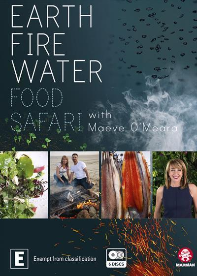 Food Safari Elements - Fire / Earth / Water(DVDBoxset)