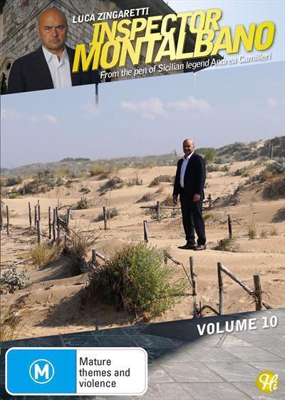 Inspector Montalbano: Volume10(DVD)