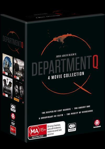 Department Q: 4 Movie Collection (DVD Box Set)