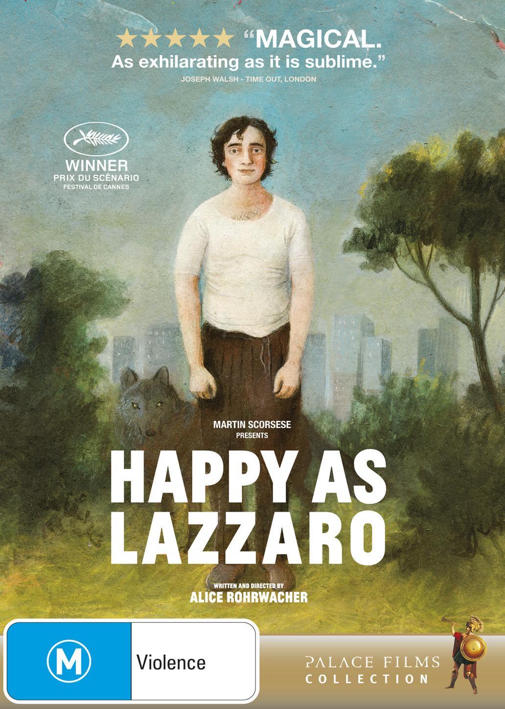 Happy asLazzaro(DVD)