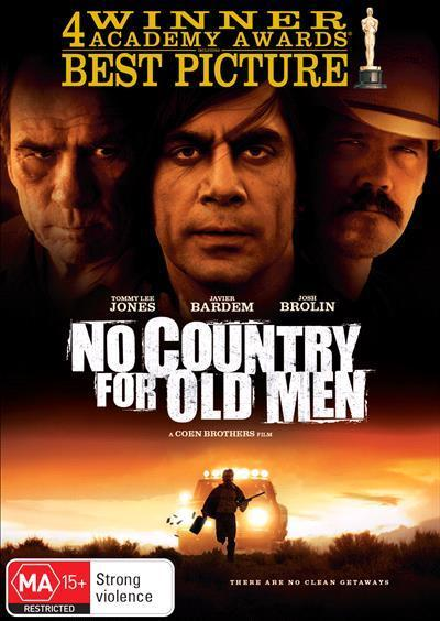 No Country For Old Men (Academy Gold DVD)