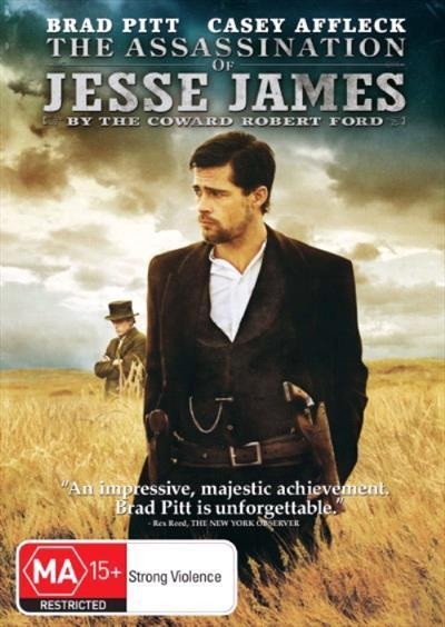 Assassination Of Jesse James By The Coward Robert Ford Dvd